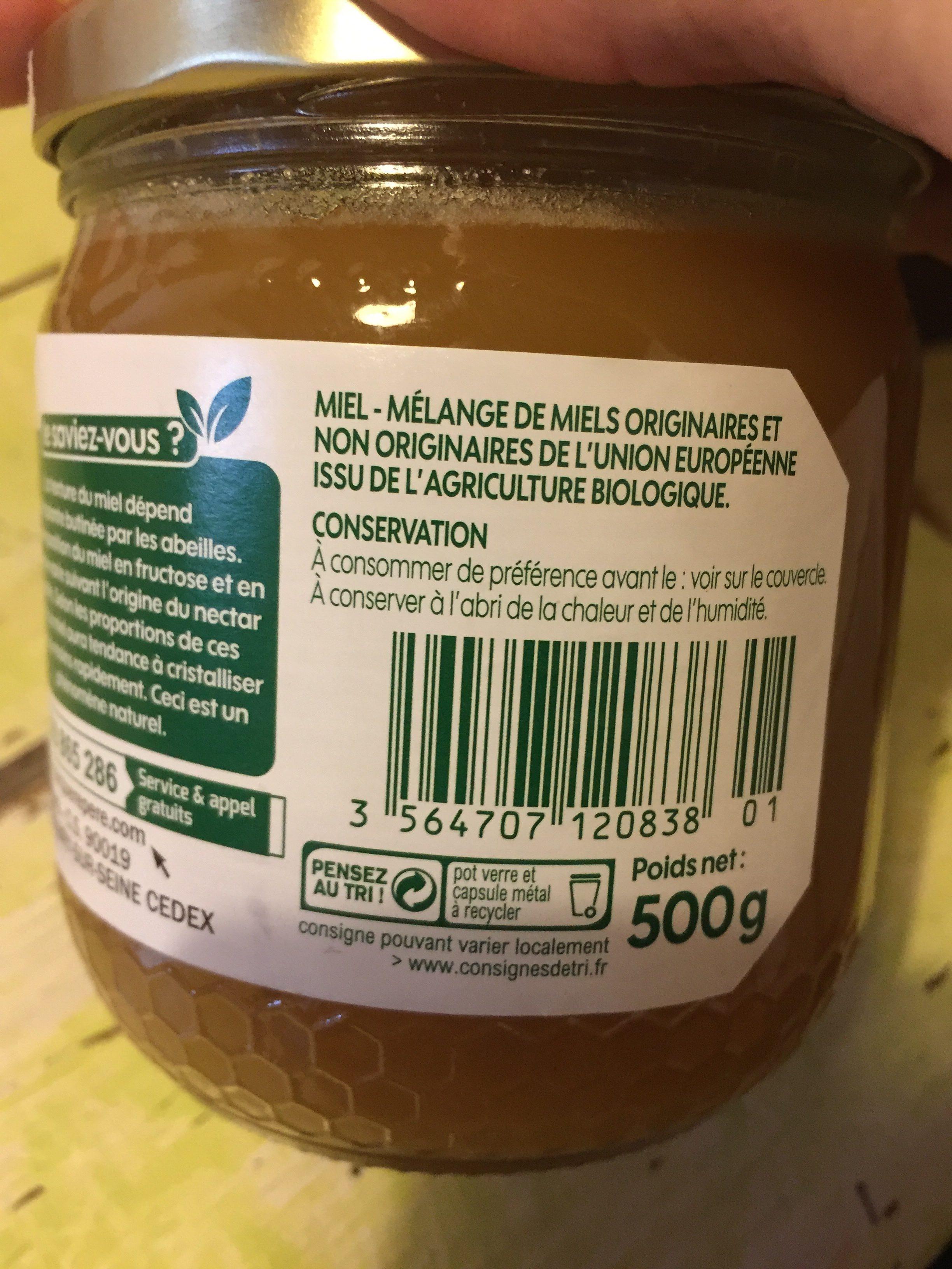 Miel cremeux de fleurs - Ingredients