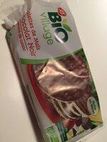 Galettes de maïs nappées chocolat noir bio - Product - fr
