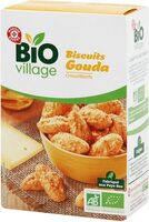 Biscuits salés gouda bio - Produit - fr