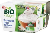 Fromage frais nature bio - Product - fr