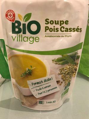 Soupe de pois cassés bio - Product