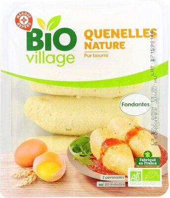Quenelles nature bio - Produit - fr