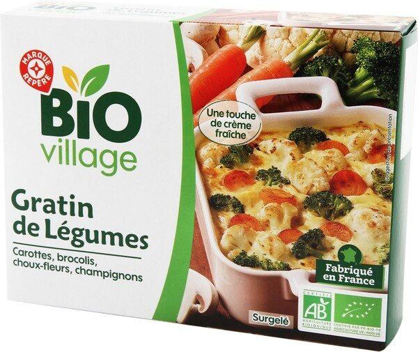 Gratin de légumes bio - Produit