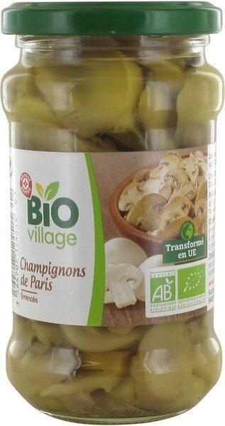 Champignons de Paris émincés bio - Product - fr