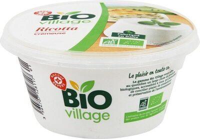 Ricotta bio 8% Mat. Gr. - Produit - fr