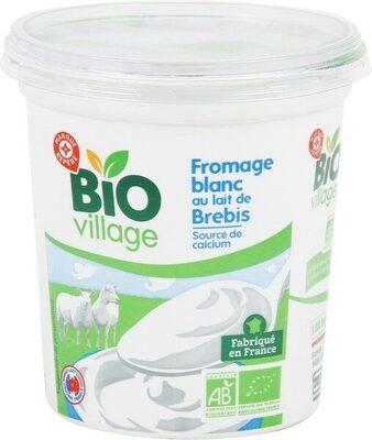 Fromage blanc au lait de brebis bio - Produit