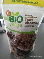 Muesli croustillant tout chocolat bio - Produit - fr