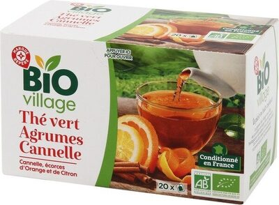 Thé vert Agrumes Cannelle - Product