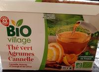 Thé vert Agrumes Cannelle - Voedingswaarden