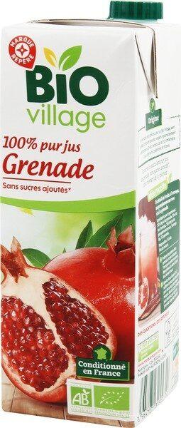 Pur jus de grenade bio - Produit