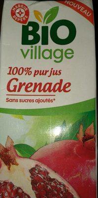 Jus de grenade 100% pur jus  Bio, sans sucres ajoutés - Product