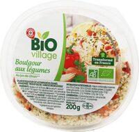 Salade de boulgour bio aux légumes - Produit