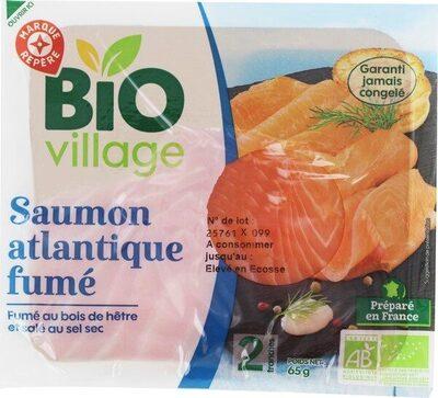 Saumon fumé Atlantique bio 2 tranches - Product - fr