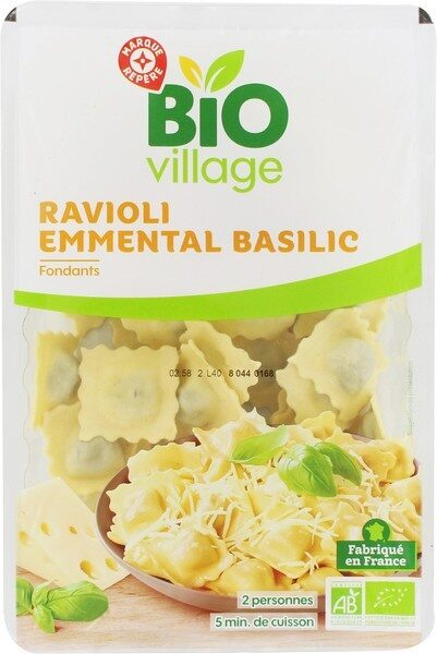 Ravioli emmental basilic - Produit - fr