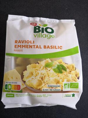 Ravioli bio emmental basilic - Produit - fr