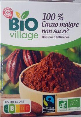 100% cacao maigre non sucré - Produit