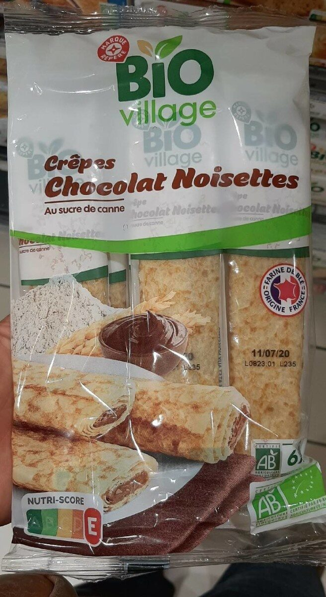 Crêpes chocolat noisette - Prodotto - fr