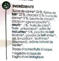 Crêpes chocolat noisette - Ingredienti - fr