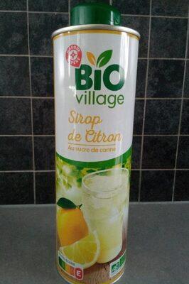 Sirop citron bio bidon - Produit - fr