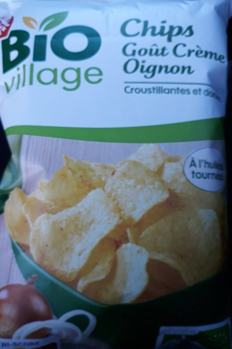 Chips crème oignons bio - Produit - fr