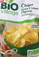 Chips bio goût crème oignon - Produit