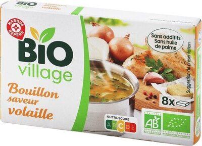 Bouillon cube volaille x8 bio - Produit - fr