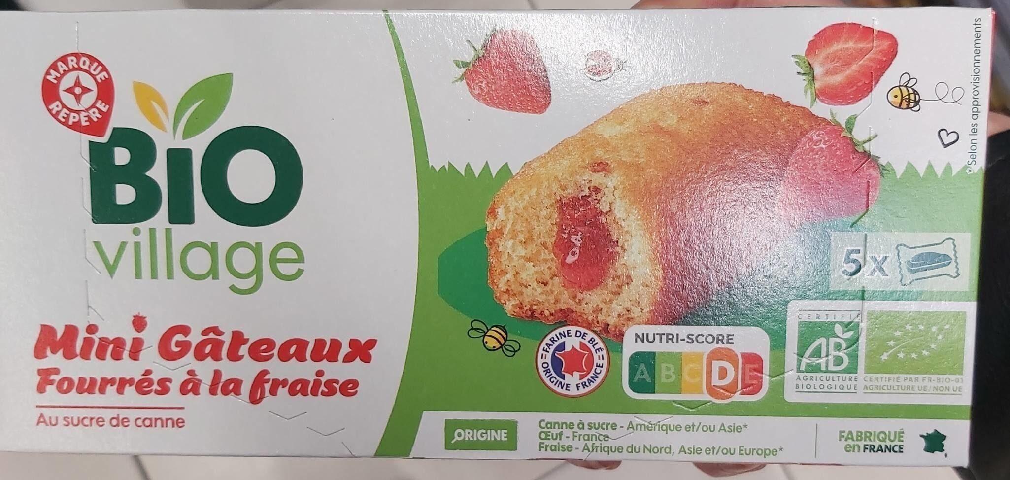 Gâteau fourré fraise - Prodotto - en