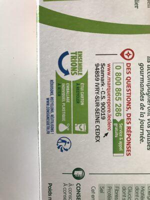 Gâteau fourré fraise - Istruzioni per il riciclaggio e/o informazioni sull'imballaggio - en