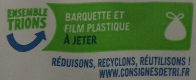 Cookies Mega pepites de chocolat - Recycling instructions and/or packaging information - fr