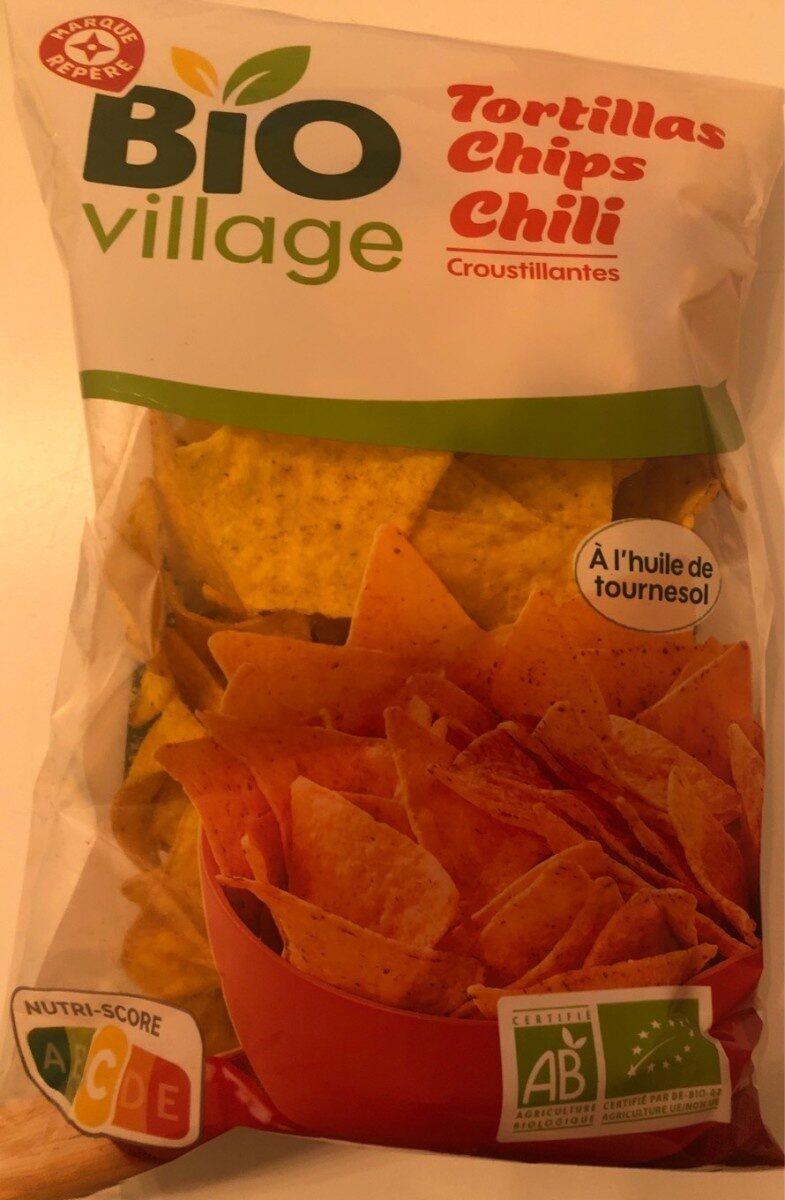 Tortillas chips chili - Produit - fr