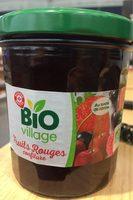Confiture fruits rouges - Produit - fr