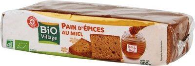 Pain d'épices au miel bio - Product