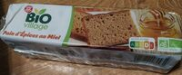Pain d'épices au miel bio - Produit - fr