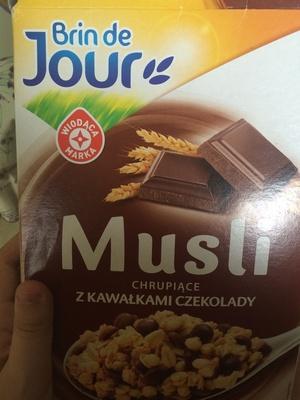 Musli  chocolat - Produit - fr