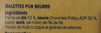 Broyé du Poitou - Ingredients - fr