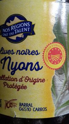 Olives noirs de Nyons - Produit