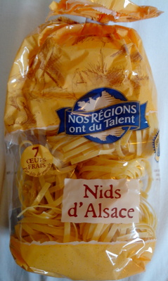 Nids d'Alsace (7 Œufs Frais Par kilo de semoule) - Produit - fr