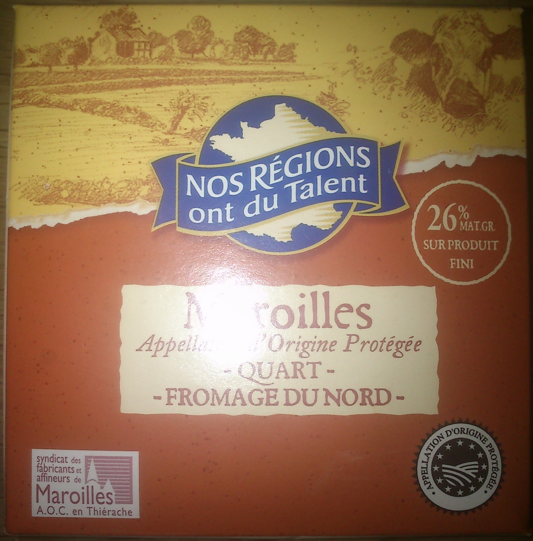 Quart Maroilles - Product