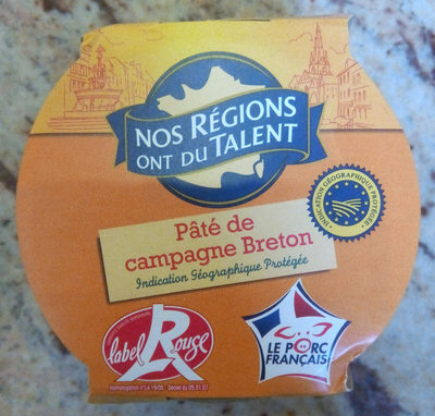 Pâté de campagne breton - Produit