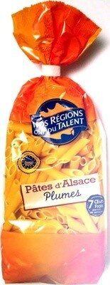 Pâtes d'Alsace Plumes (7 Œufs Frais par kilo de semoule) - Produit - fr
