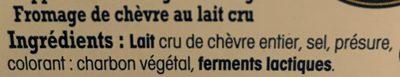 Fromage de chèvre Sainte Mauree - Ingredients