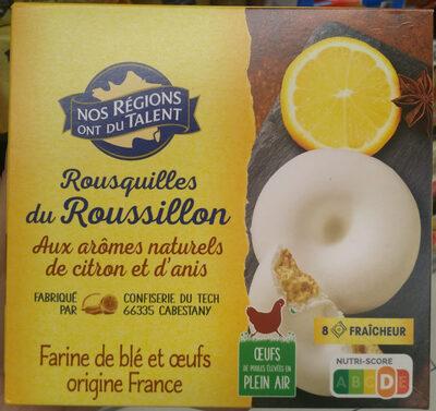 Rousquilles du Roussillon aux arômes naturels de citron et d'anis - Product - fr