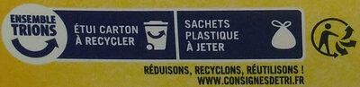 Rousquilles du Roussillon aux arômes naturels de citron et d'anis - Recycling instructions and/or packaging information - fr