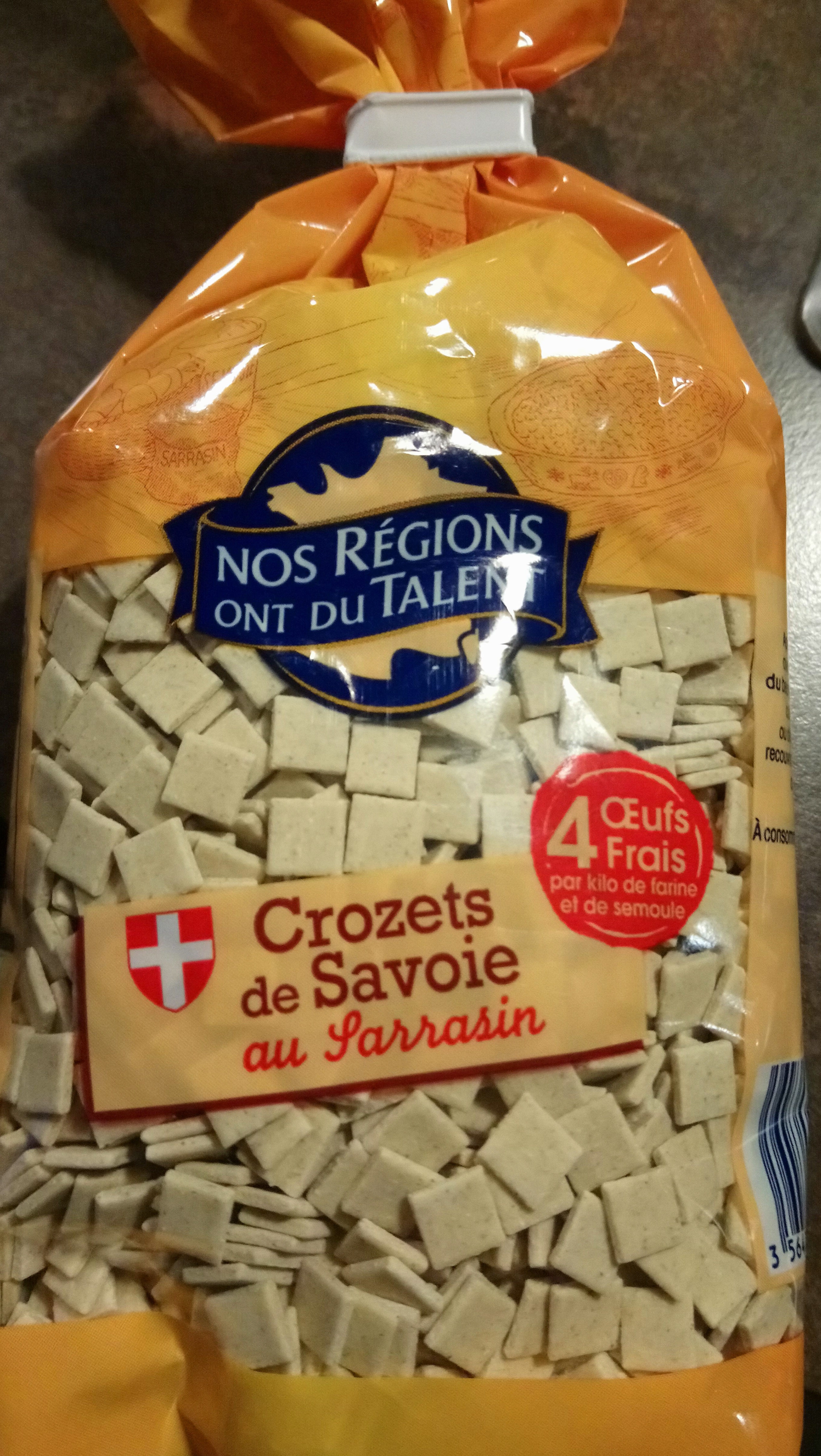 Pates crozets au Sarrasin - Produkt - fr