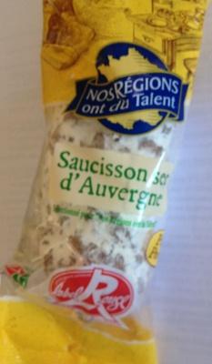 Saucisson sec d'Auvergne - Produit - fr