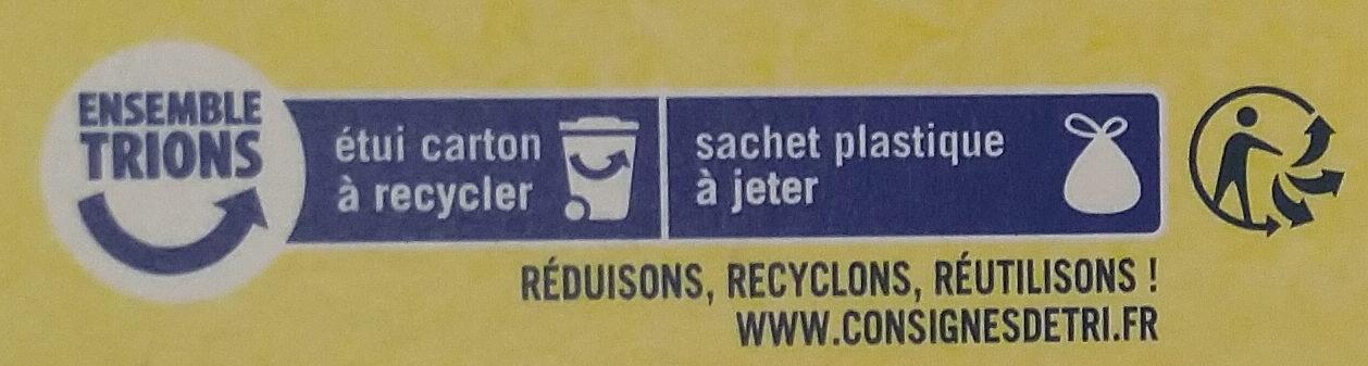 Palets bretons fabriqués à Pont-Aven - Istruzioni per il riciclaggio e/o informazioni sull'imballaggio - fr