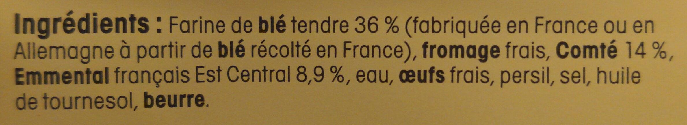 Raviolis du Dauphiné - Ingrédients - fr