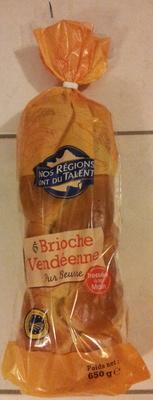 Brioche vendéenne - Pur beurre, tressée à la main, IGP - Product