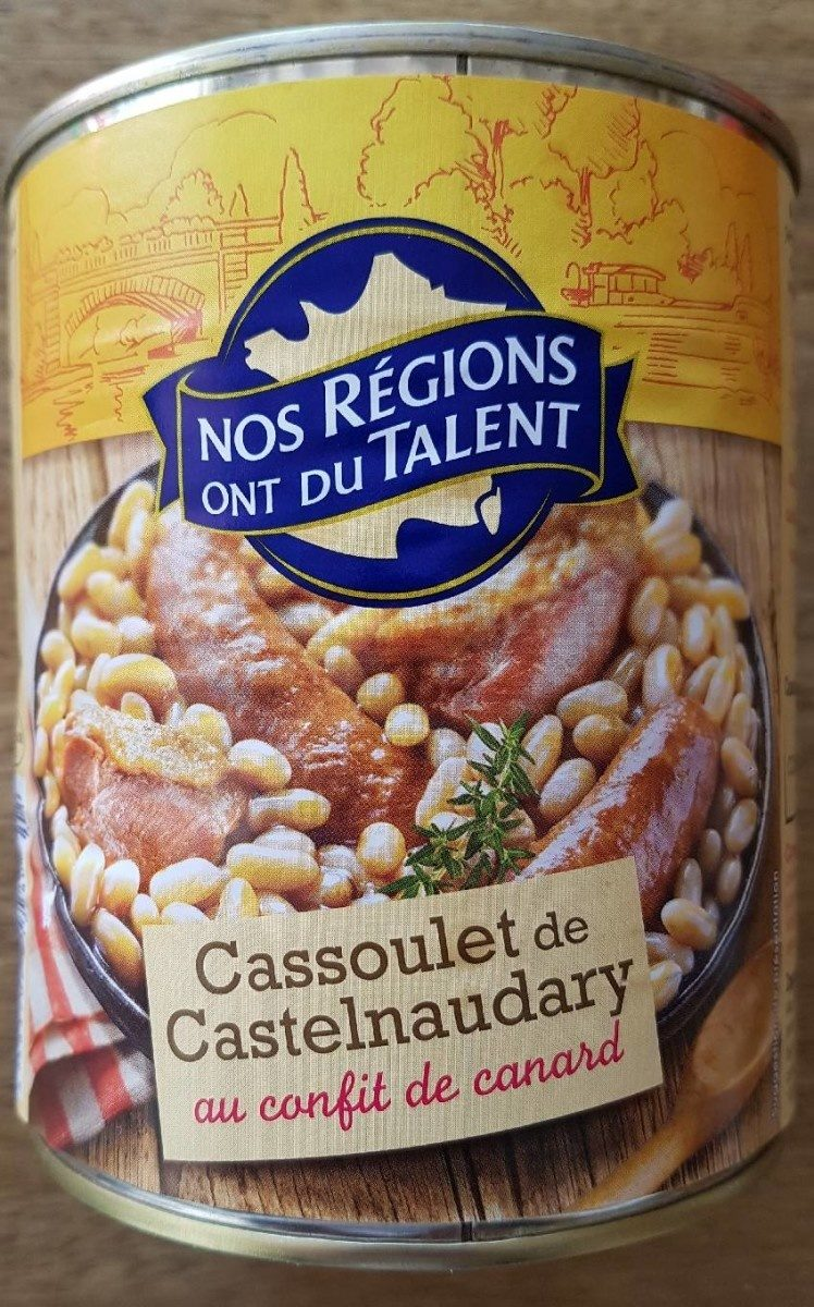 Cassoulet de Castelnaudary au confit de canard - Produit - fr