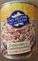 Cassoulet de Castelnaudary au confit de canard - Product - fr